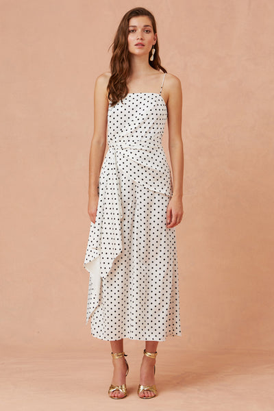 Keepsake Foolish Jumpsuit - Polka
