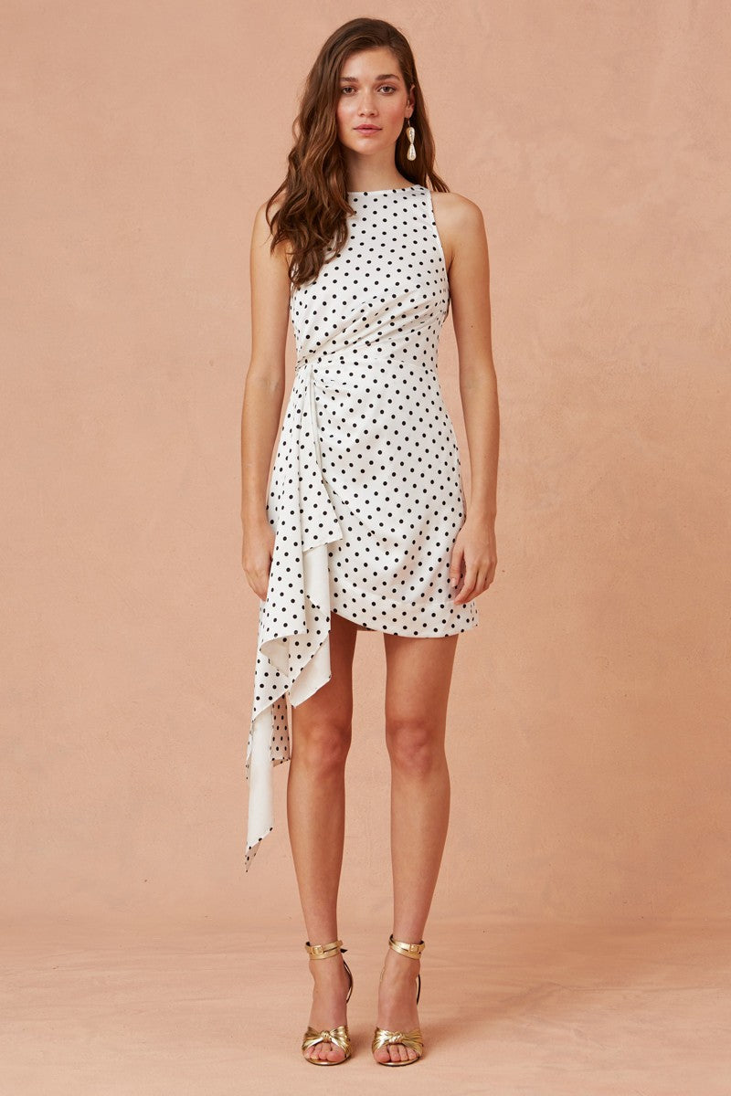 Keepsake Foolish Mini Dress - Polka