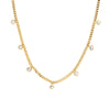 Jolie & Deen Lana Crystal Necklace - Gold