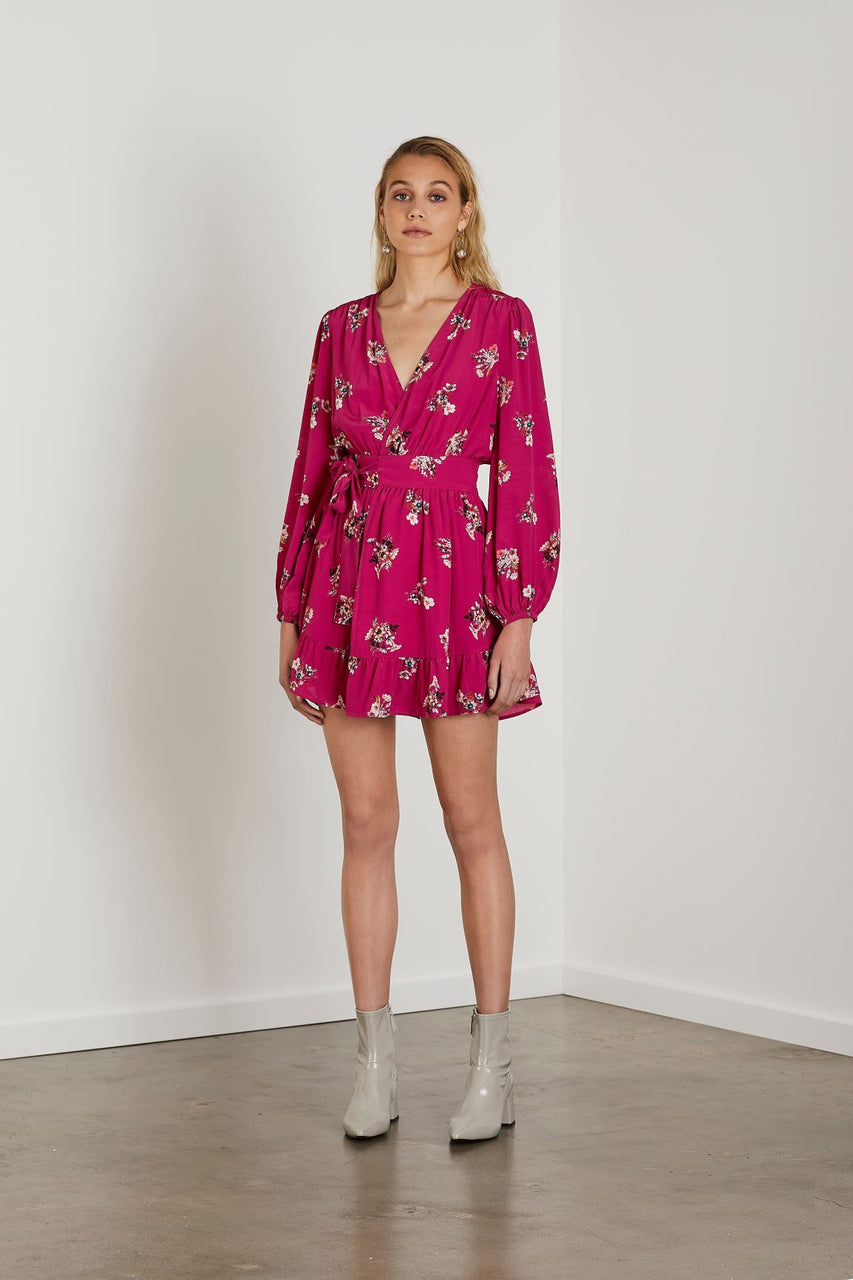 Steele Madrid Wrap Dress
