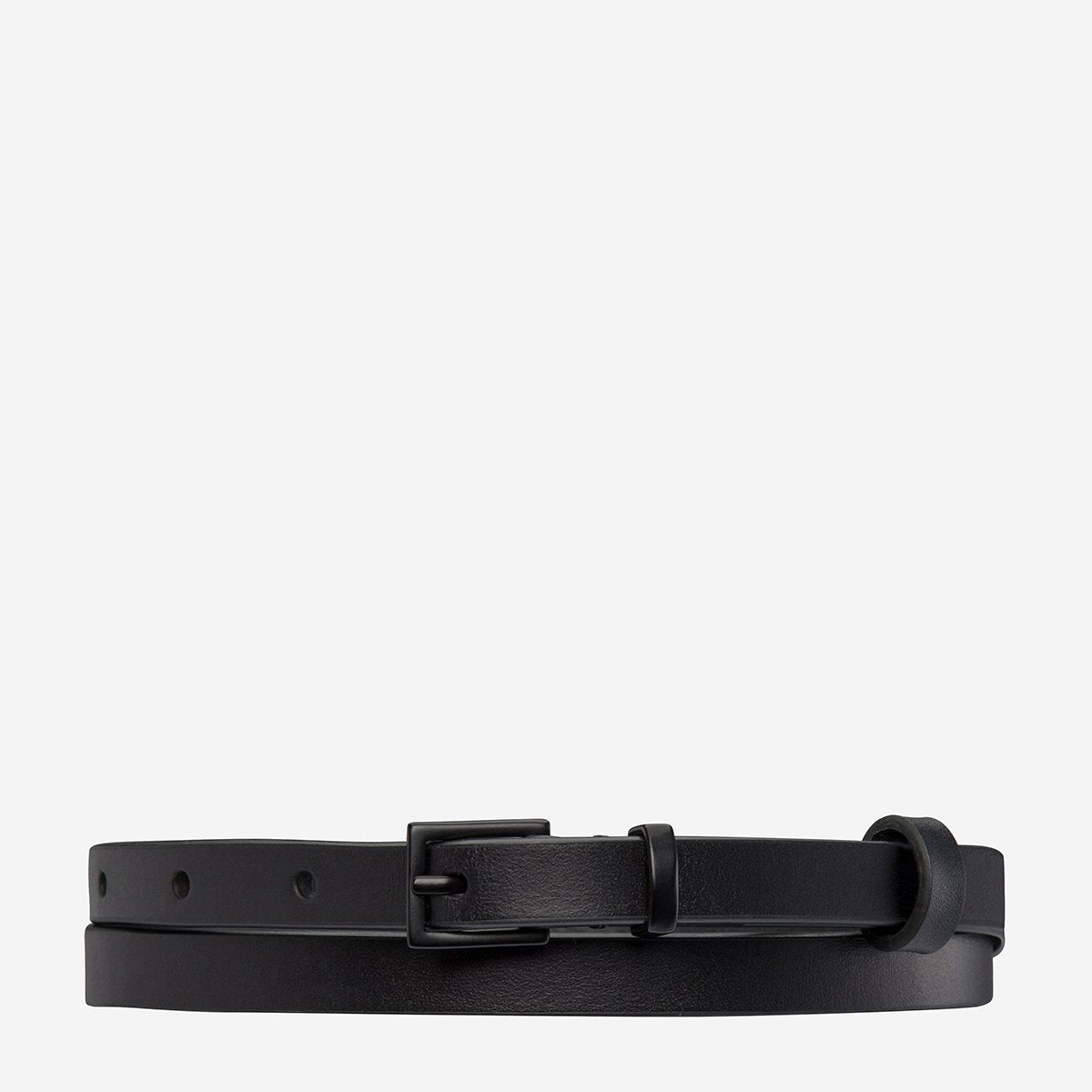 Status Anxiety One Little Victory Belt - Black