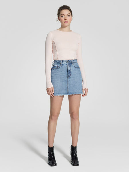 Nobody Denim Piper Skirt - Mode