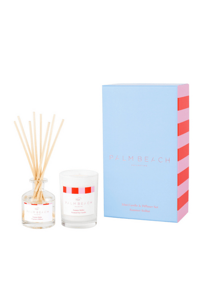 Palm Beach - Gift Pack Mini Candle & Diffuser - Summer Bellini