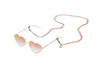 Quay Circle Sunnies Chain - Rose Gold