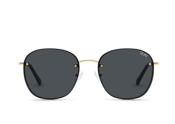 Quay Jezabell Rimless - Gold/Smoke