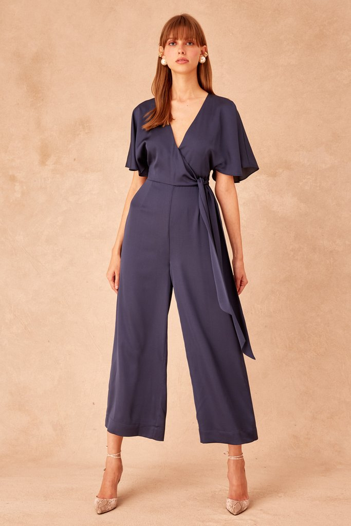 Keepsake Raindrops Jumpsuit - Midnight
