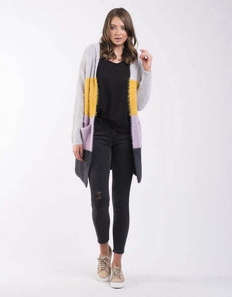 All About Eve Rare Find Knit Cardi - Multi Coloured