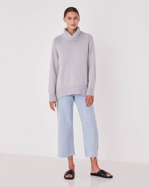 Assembly Label Roll Neck Knit Cloud