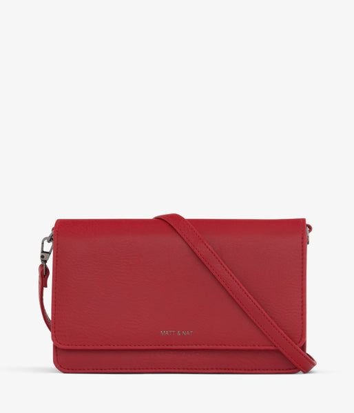 Matt & Nat - Bee Dwell Crossbody Bag - Red