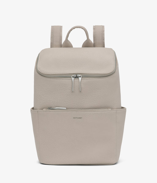 Matt & Nat - Brave Dwell Backpack - Koala Matte Nickel