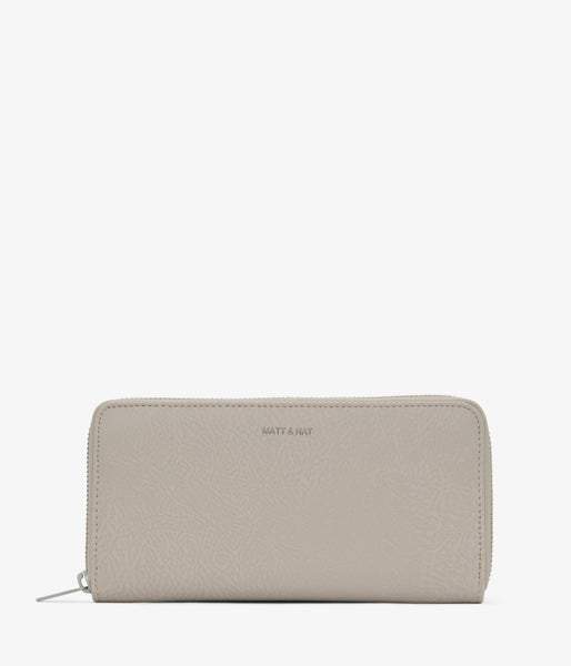 Matt & Nat - Central Dwell Wallet - Koala Matte Nickel
