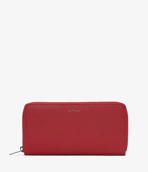 Matt & Nat - Central Dwell Wallet - Red