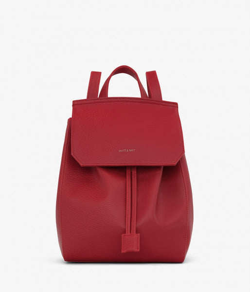 Matt & Nat - Mumbaism Dwell Backpack - Red