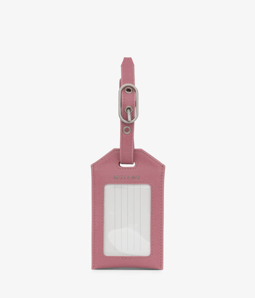 Matt & Nat - Trotter Vintage Luggage Tag - Berry