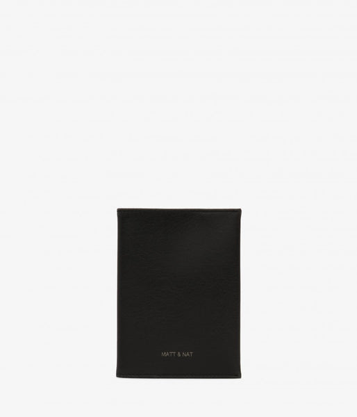 Matt & Nat - Voyage Vintage Passport Sleeve - Black