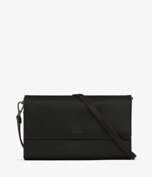 Matt & Nat - Drew LG Vintage Crossbody Bag - Black