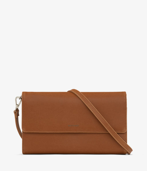 Matt & Nat - Drew LG Vintage Crossbody Bag - Chili Matte Nickel