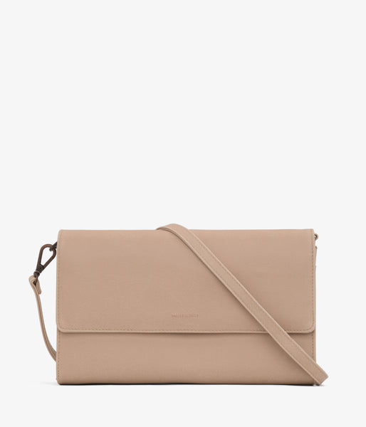 Matt & Nat - Drew LG Vintage Crossbody Bag - Frappe