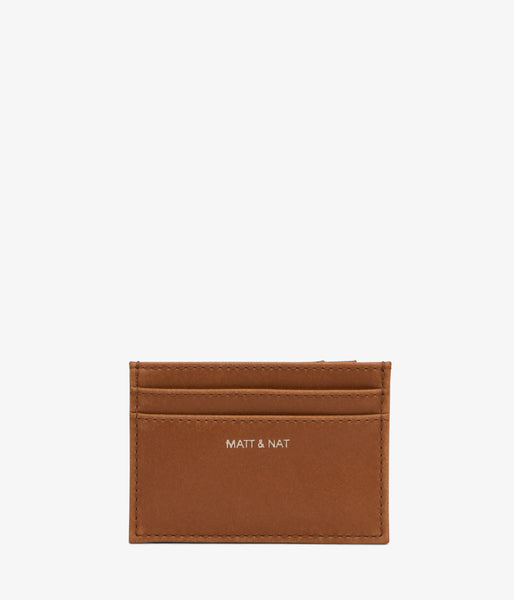 Matt & Nat - Mens Max Wallet - Chili Matte Nickel