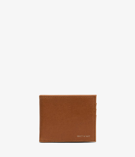 Matt & Nat - Rubben Men's Wallet - Chili Matte Nickel