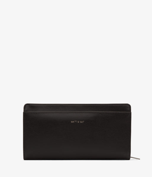 Matt & Nat - Webber Vintage Wallet - Black