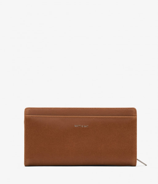 Matt & Nat - Webber Vintage Wallet - Chili Matte Nickel