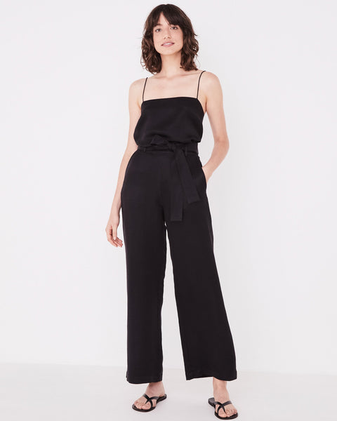 Assembly Label Column Pant - Black