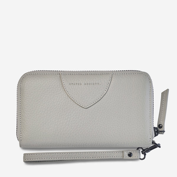Status Anxiety Moving On Wallet - Grey