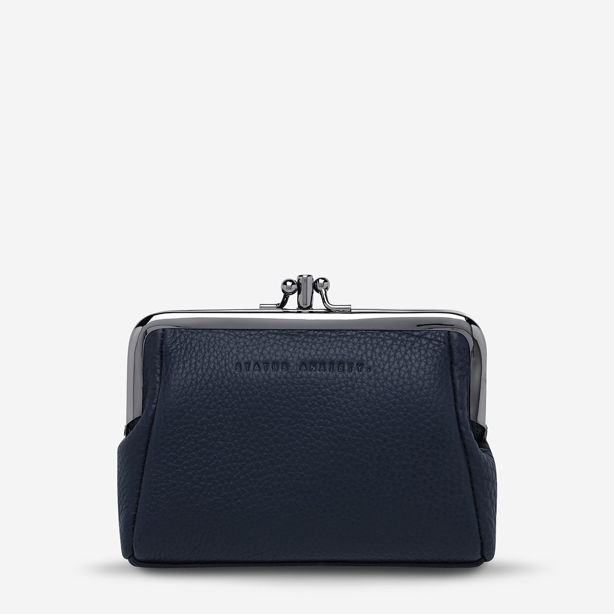 Status Anxiety Volatile Purse - Navy Blue