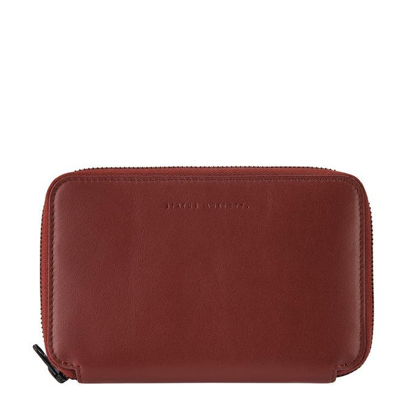 Status Anxiety Vow Travel Wallet - Cognac
