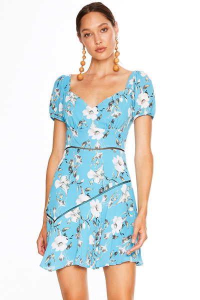 Talulah Cannes Mini Dress - Blue Valentine