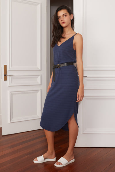 The Fifth Axis Dress Navy