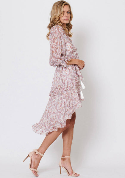 Three of Something Enchanted Floral Dress