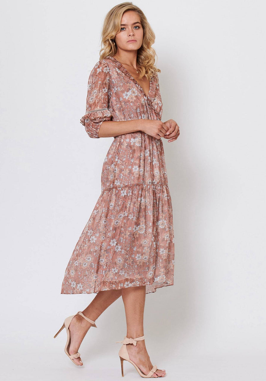 Three of Something Eternal Floral Star Dress