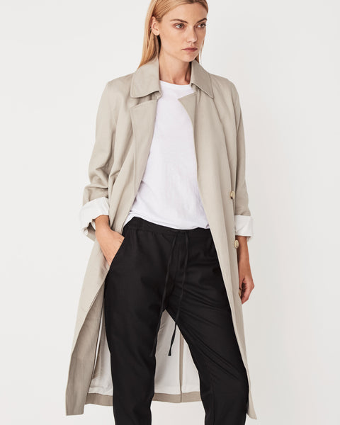 Assembly Label Verona Trench - Flax