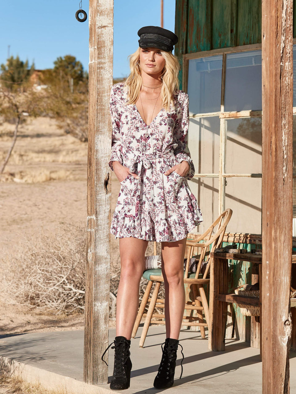 Kivari Flores LS Mini Dress