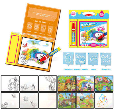 Educatioanl Drawing toys for kids Children Water Painting Board Magic Graffiti Education Color Painting Toys