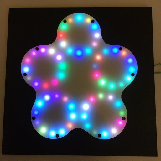 Build the BeatFlower - an interactive RGB LED Light