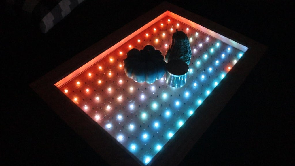 Build an amazing interactive coffee table with Arduino