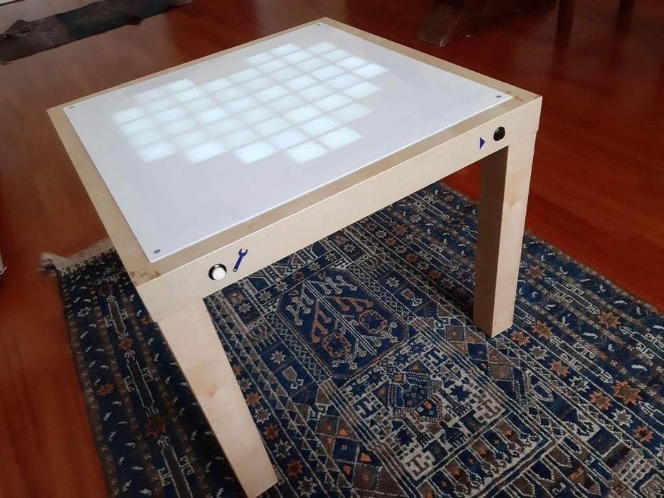 Build an Animated LED Coffee Table