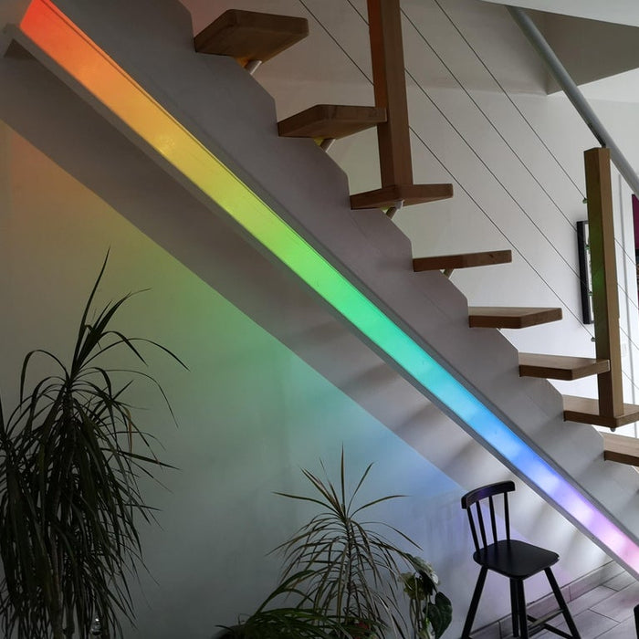 Turn your staircase into a flaircase with this LED system