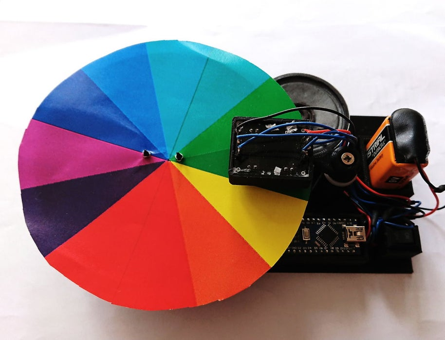 The Arduino-powered Color Musical Instrument