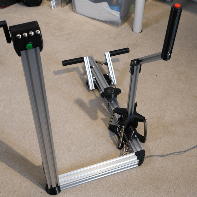 Upgrade your flight sim setup with Tom Stanton's floor-mounted joystick