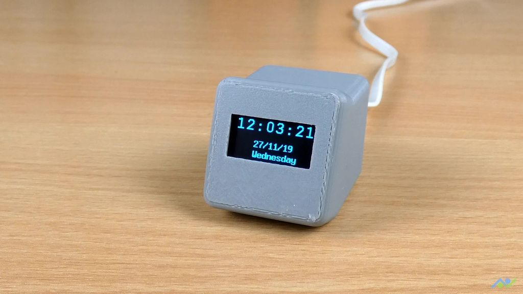 NTP network time clock with ESP8266