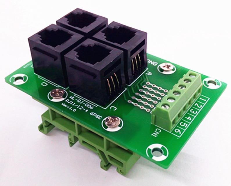 RJ11 RJ12 Breakout boards from PMD Way with free delivery worldwide