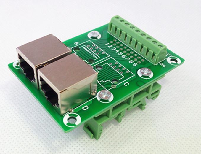 RJ45 Breakout boards from PMD Way with free delivery worldwide