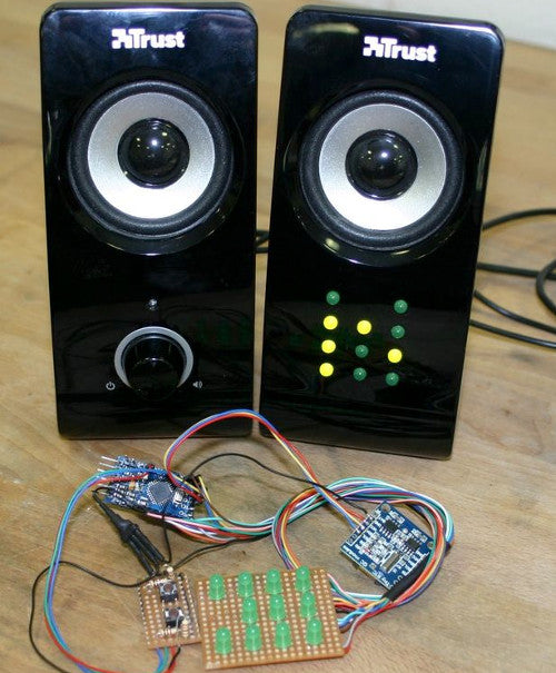 Build a simple yet accurate Binary Clock