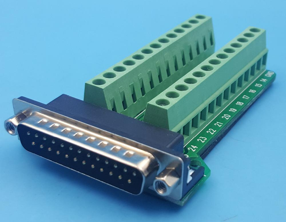 DB25 breakout boards from PMD Way with free delivery worldwide