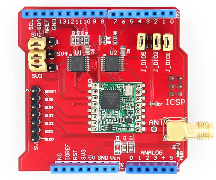 LoRa Shield for Arduino from PMD Way with free delivery, worldwide