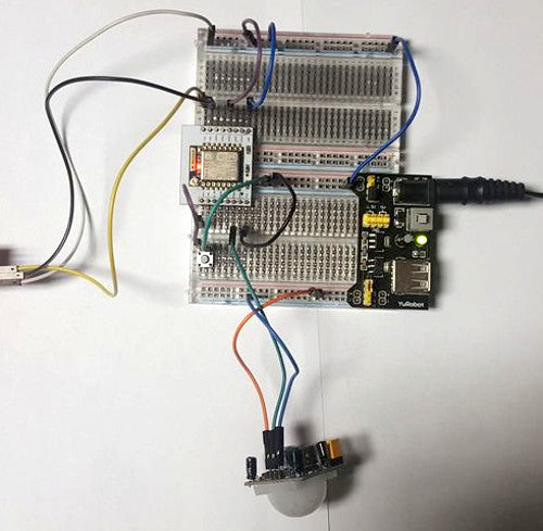 Build an ESP8266 Motion Detector with Email notifications